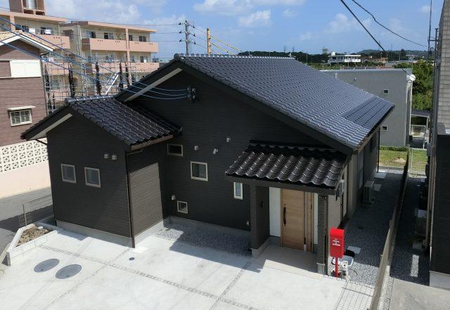 洋瓦【スーパーモランS】 銀黒