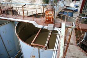 シバオ独自の水簸処理工程