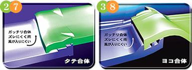 総合防災ウルトラ3S瓦スーパーBポイント2・7・3・8